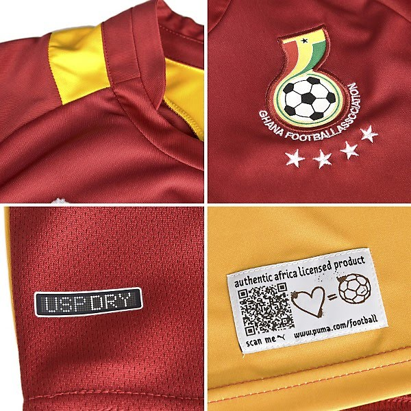 Ghana Away Close Up
